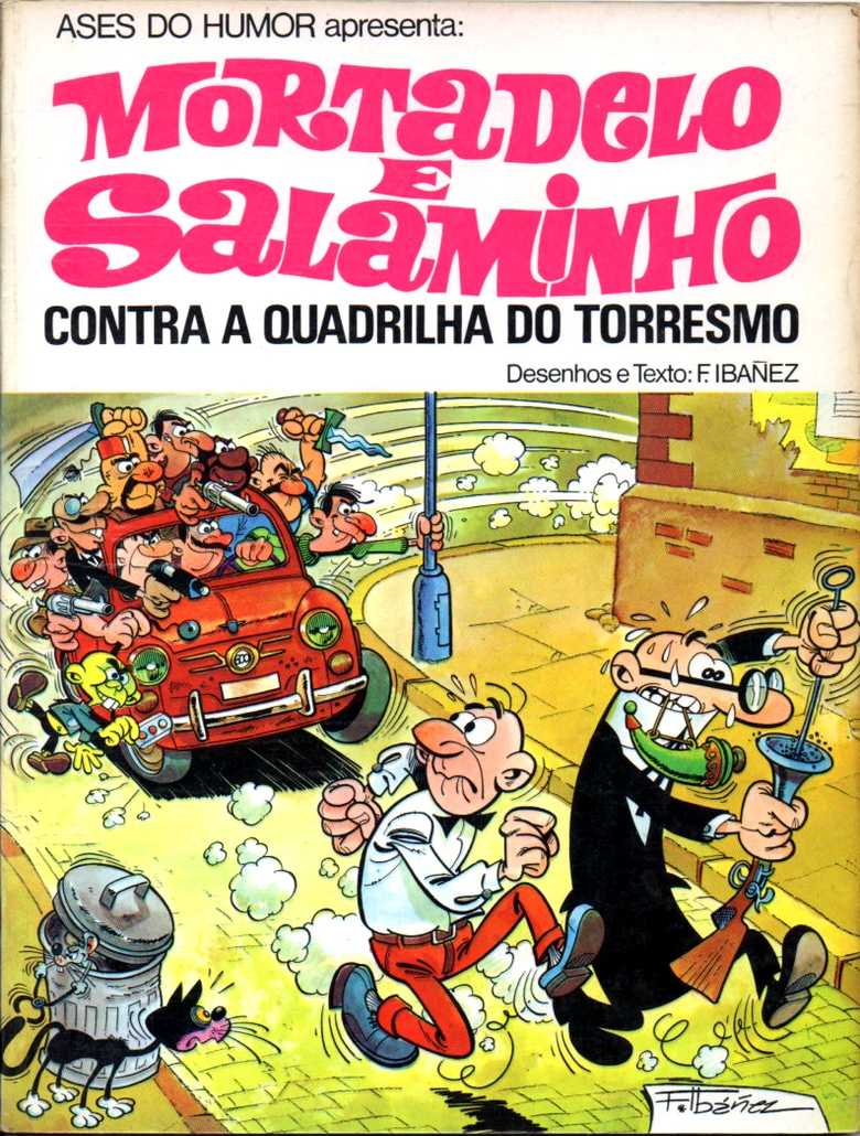 Mortadelo e Salaminho - Contra a quadrilha do torresmo