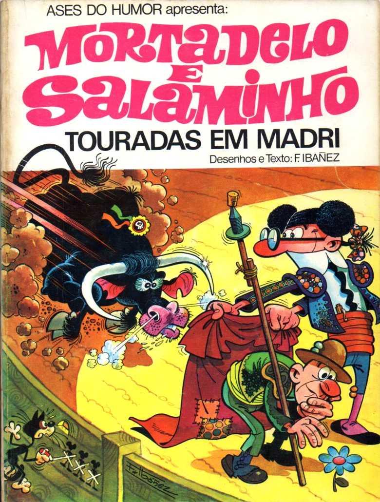 Mortadelo e Salaminho - Touradas em Madri