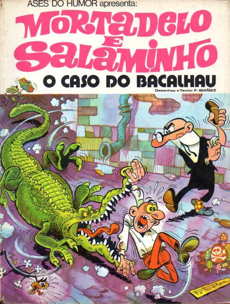 Mortadelo e Salaminho - O caso do bacalhau