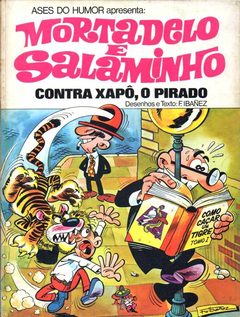 Mortadelo e Salaminho - Contra Xapô, o pirado