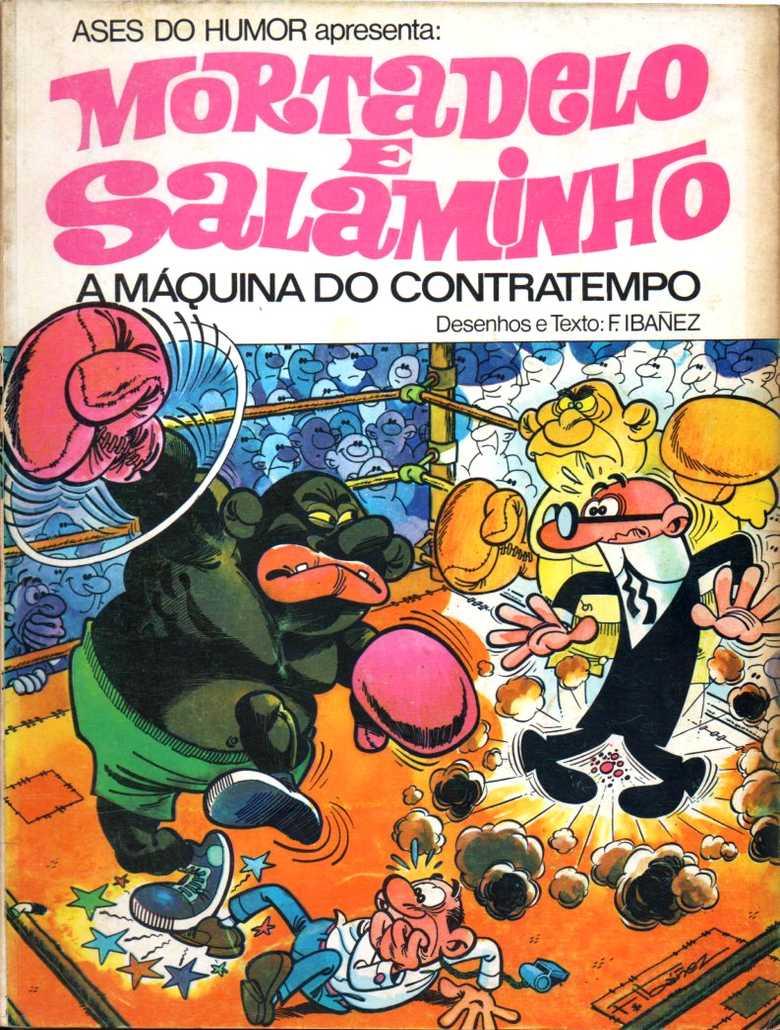 Mortadelo e Salaminho - A máquina do contratempo