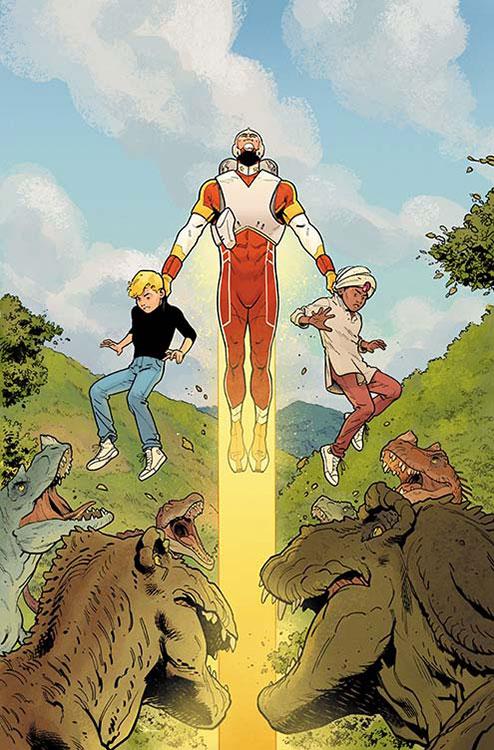 Adam Strange & Future Quest Annual # 1