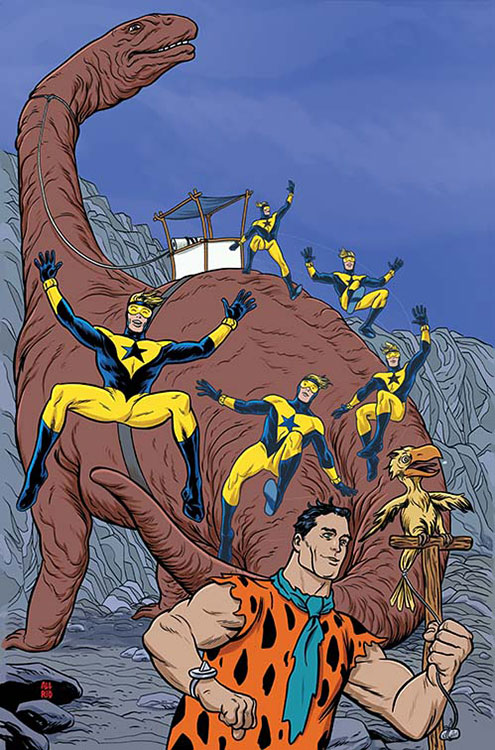 Booster Gold & The Flintstones Annual # 1