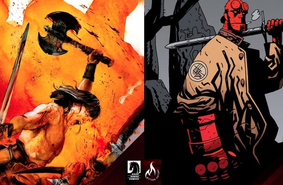 Conan e Hellboy