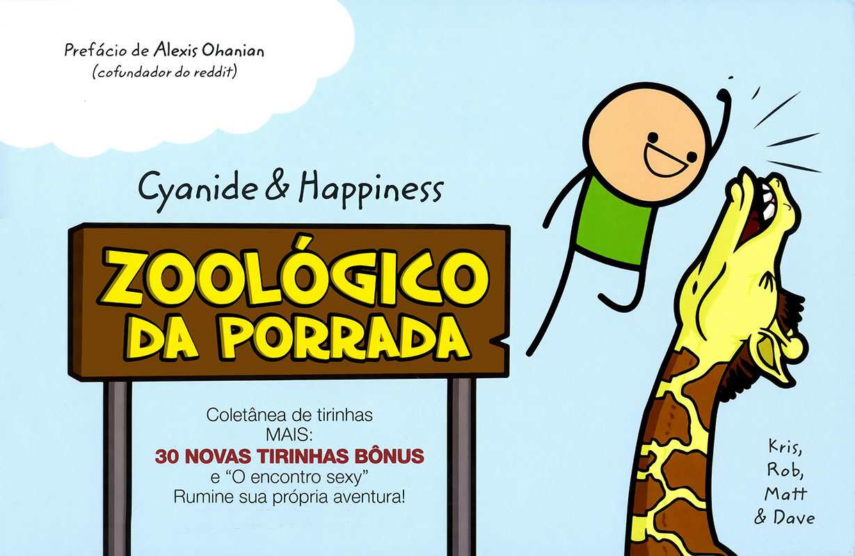 Cyanide & Happiness - Zoo da porrada
