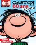 Capa de gaston 60 ans, edição especial de Paris-Match