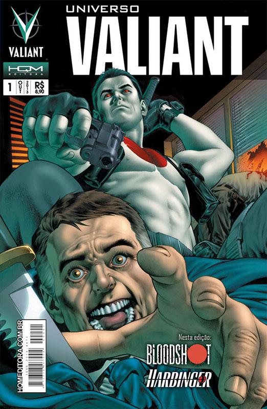 Universo Valiant # 1, da HQM Editora