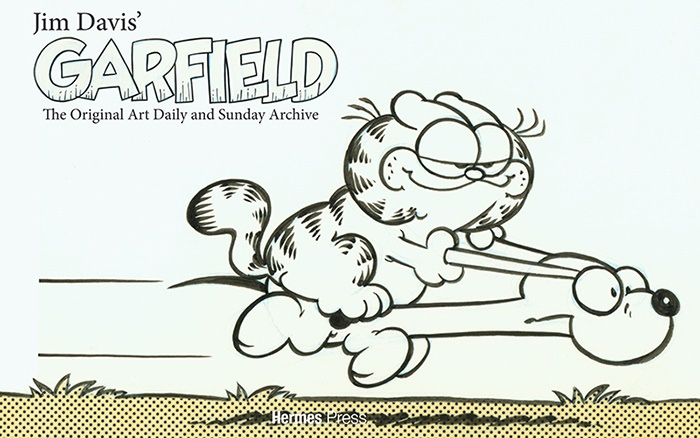 Jim Davis' Garfield - The Original Daily and Sunday Art Archive - versão limitada