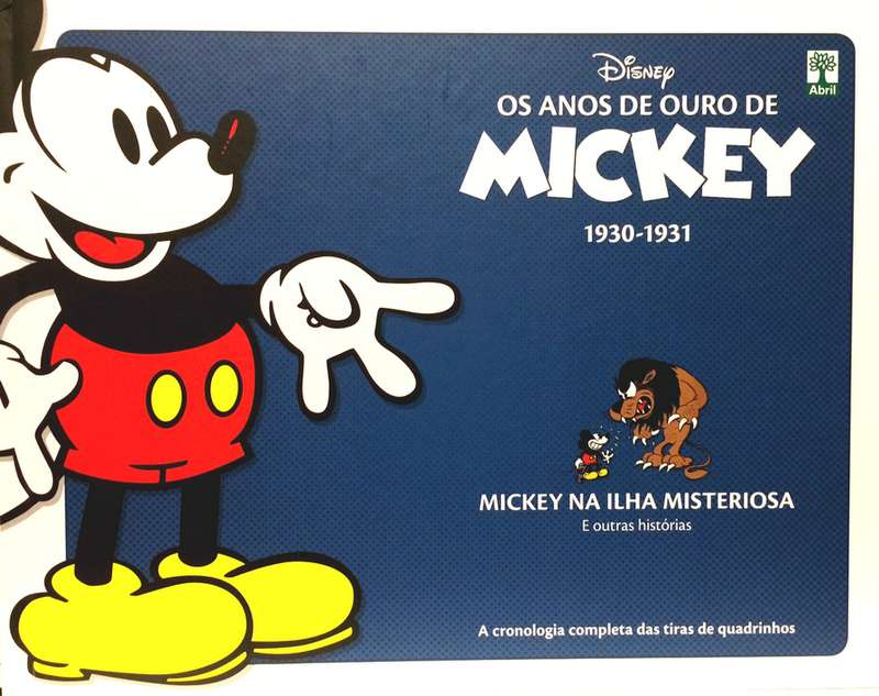 Os anos de ouro do Mickey
