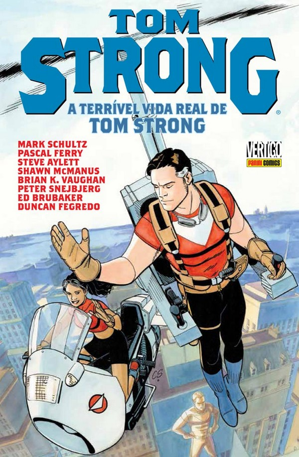 Tom Strong – A terrível vida real de Tom Strong