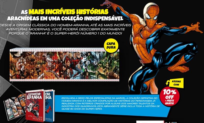 A coleção definitiva do Homem-Aranha