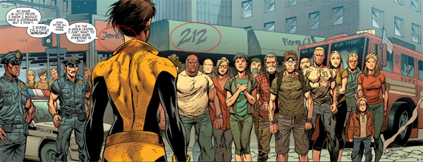 Quadro de X-Men Gold # 1