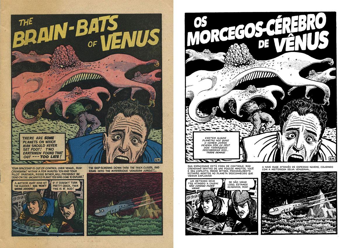 Restauração de Morcegos-Cérebro de Vênus e Outras Histórias