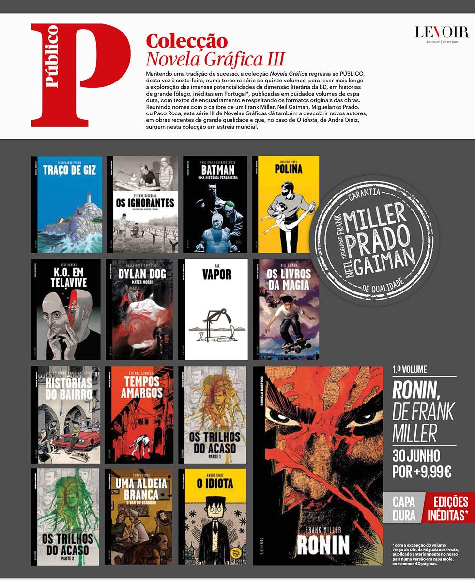Coleção Novela Gráfica