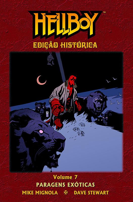 Hellboy - Edição Histórica - Volume 7 - Paragens Exóticas