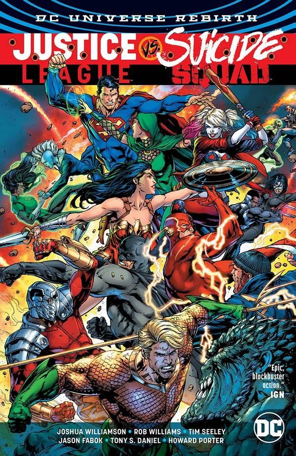 Liga da Justiça versus Esquadrão Suicida