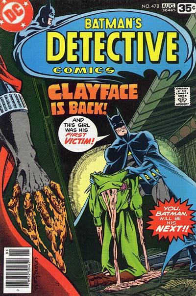 Detective Comics # 478