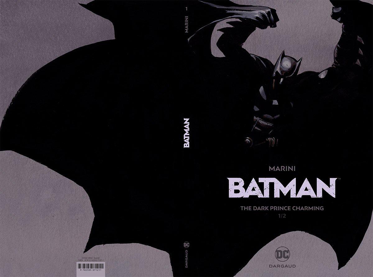 Capa da edição especial de Batman - The Dark Prince Charming