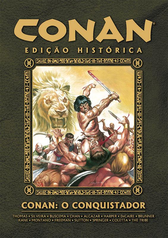 Conan - Edição Histórica - O conquistador
