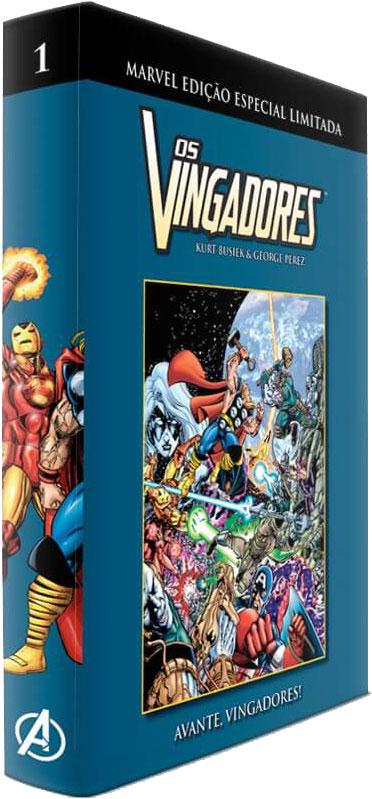Marvel Edição Especial Limitada - Os Vingadores - Volume 1