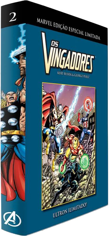 Marvel Edição Especial Limitada - Os Vingadores - Volume 2