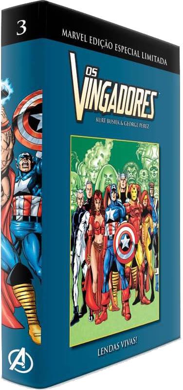 Marvel Edição Especial Limitada - Os Vingadores - Volume 3