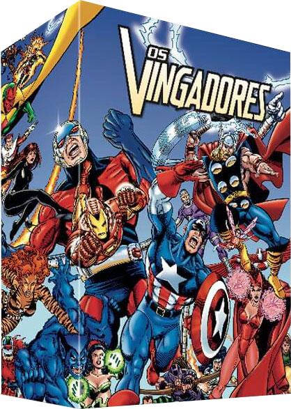 Caixa da coleção Marvel Edição Especial Limitada - Os Vingadores