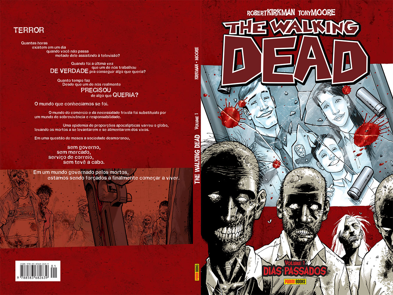 The Walking Dead - Volume 1 - Dias Passados