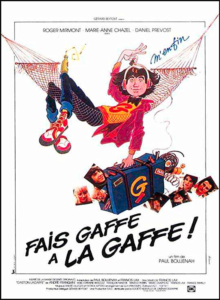 Cartaz de Fais Gaffe a la Gaffe!