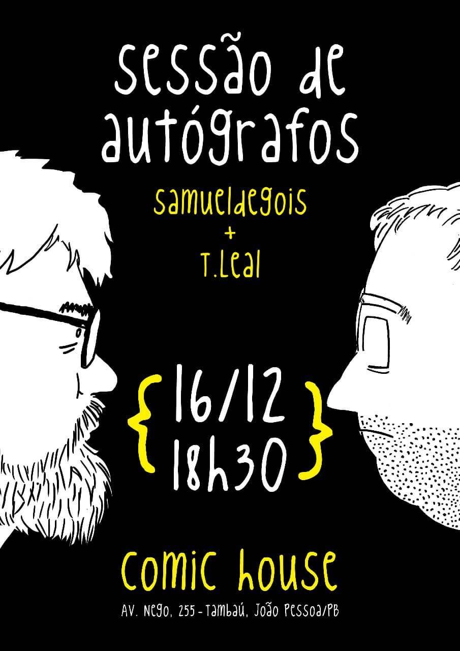 Bate-papo e autógrafos de Samuel Gois e Thiago Leal