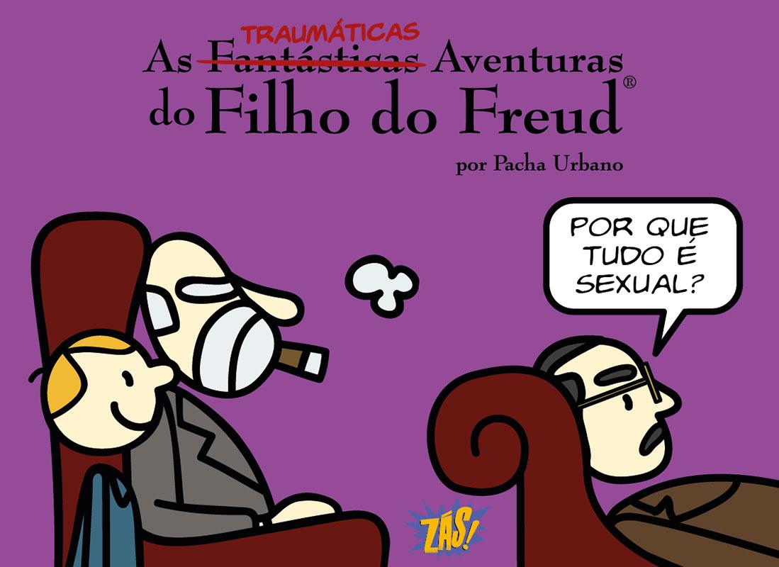 As traumáticas aventuras do Filho de Freud - Volume 3
