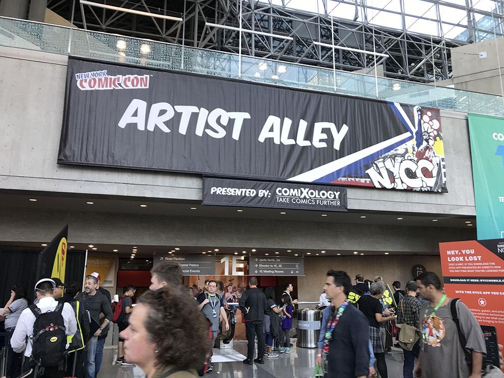 Artist Alley da NYCC