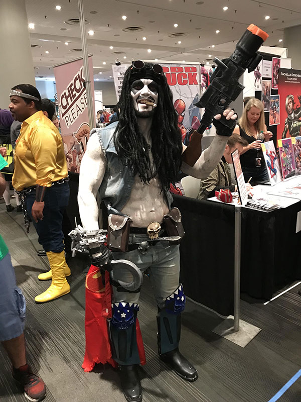 Cosplayer do Lobo