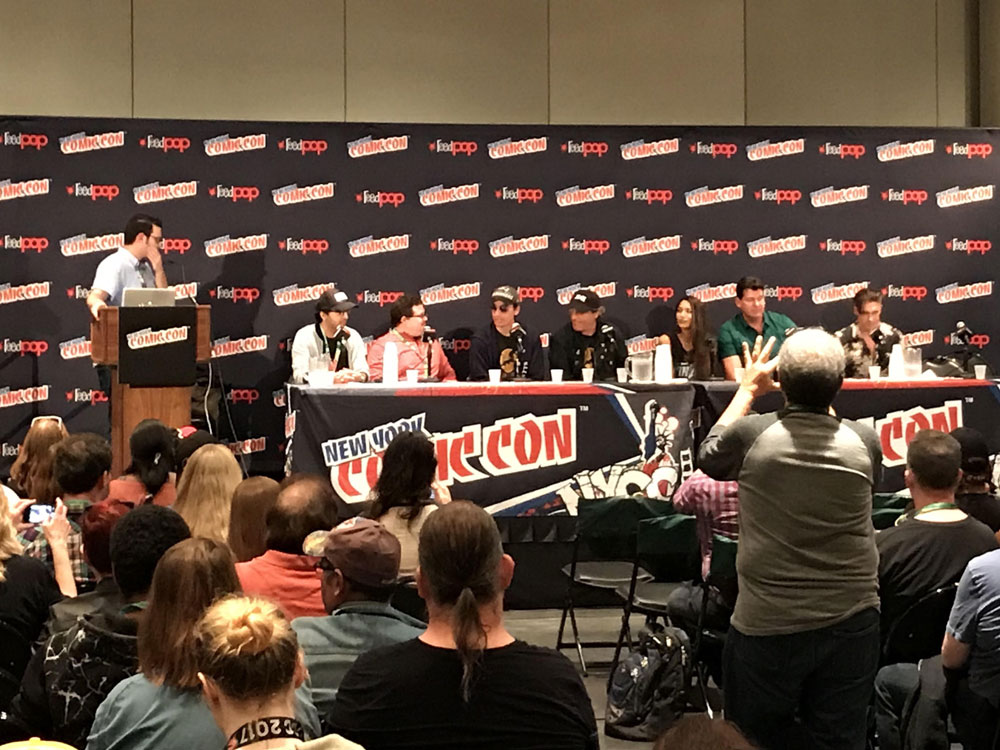 Painel na NYCC