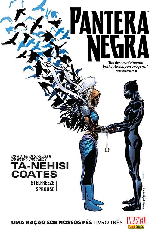 Pantera Negra -Uma Nação Sob Nossos Pés - Livro Três