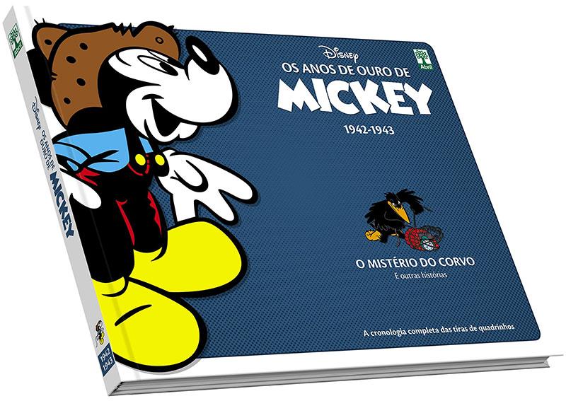 Os Anos de Ouro de Mickey - Volume 13 - O Mistério do Corvo