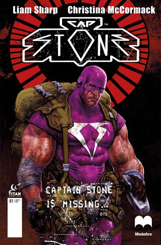 Cap Stone - O Capitão Stone está desaparecido