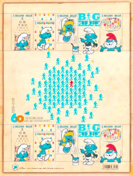 Selos dos Smurfs