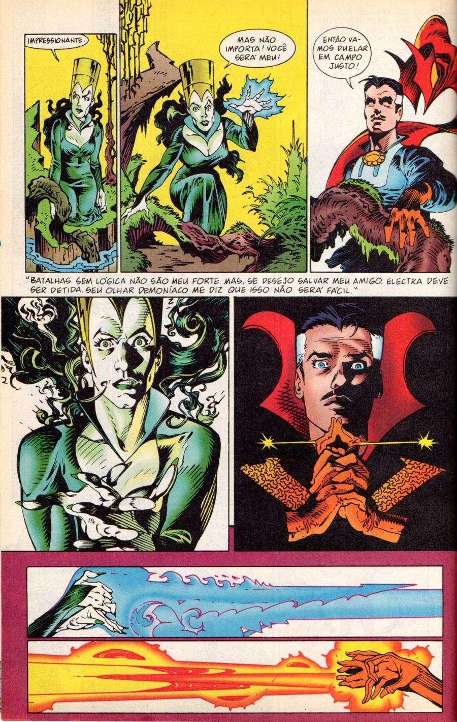 Arte de P. Craig Russell na história redesenhada