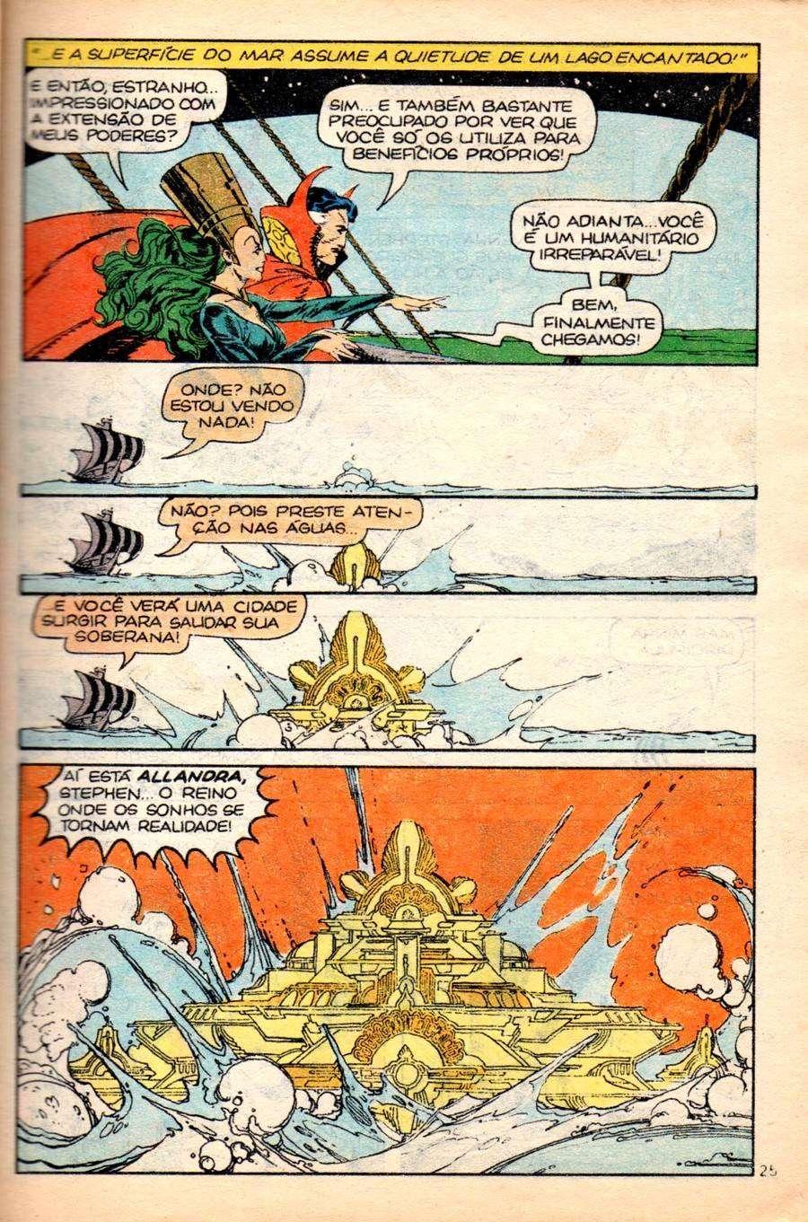 Arte de P. Craig Russell na história original