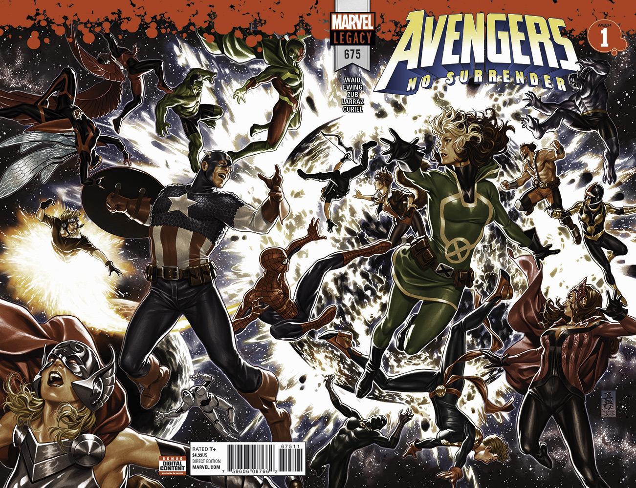 Avengers - No Surrender # 1