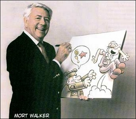 Morre Mort Walker, o criador do Recruta Zero
