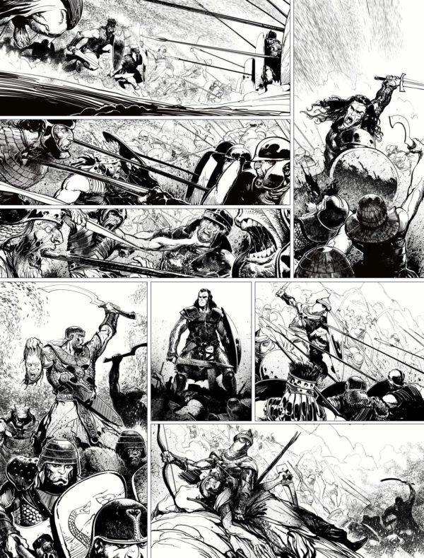 Página de Conan - O Colosso Negro
