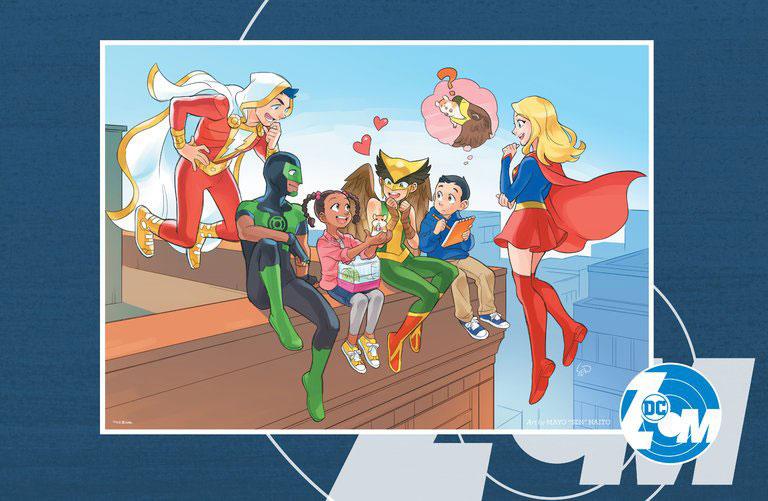Heróis no selo DC Zoom