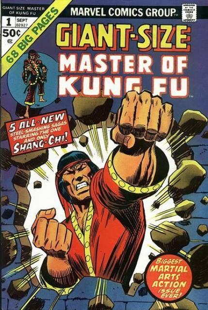 Giant-Size Master of Kung Fu # 1