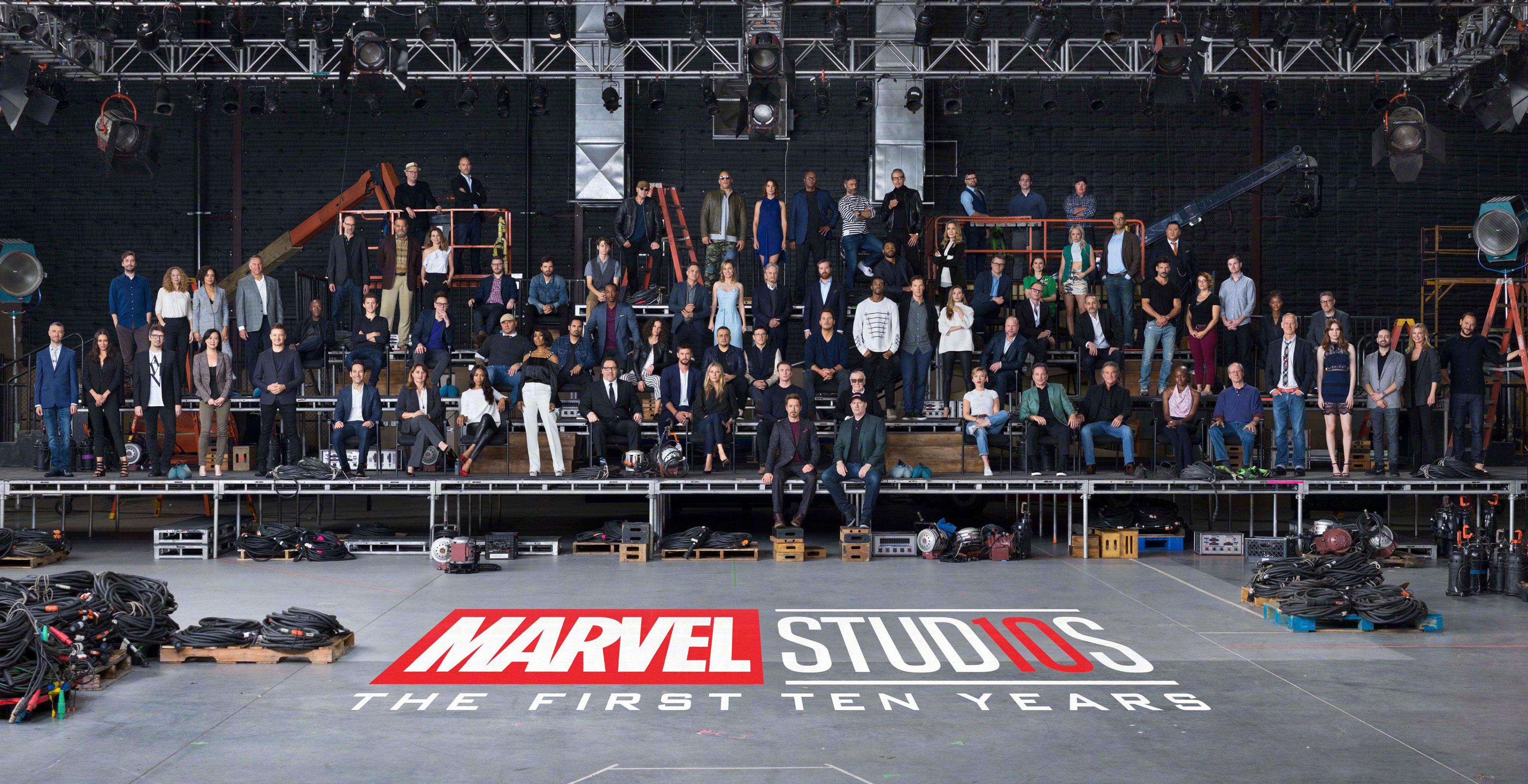 10 anos de Marvel Studios