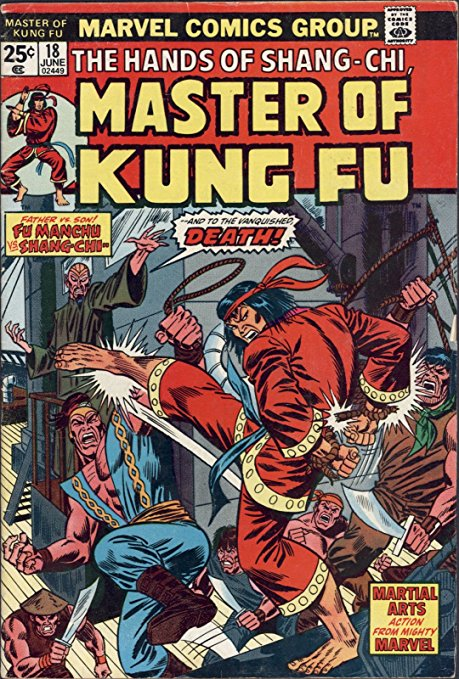 Master of Kung Fu # 18