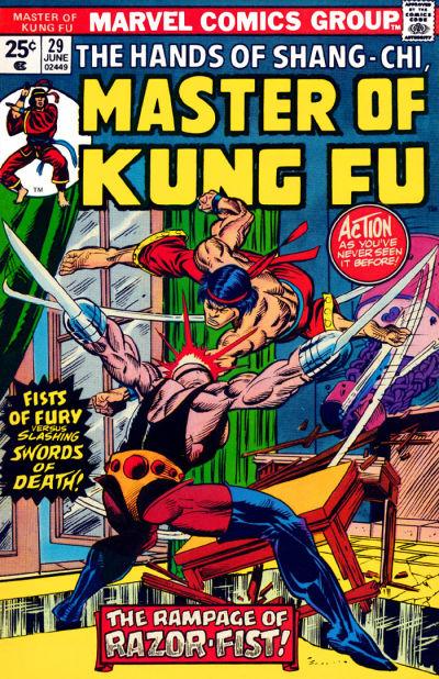 Master of Kung Fu # 29