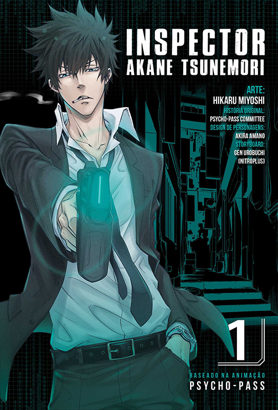 Inspector Akane Tsunemori - Volume 1