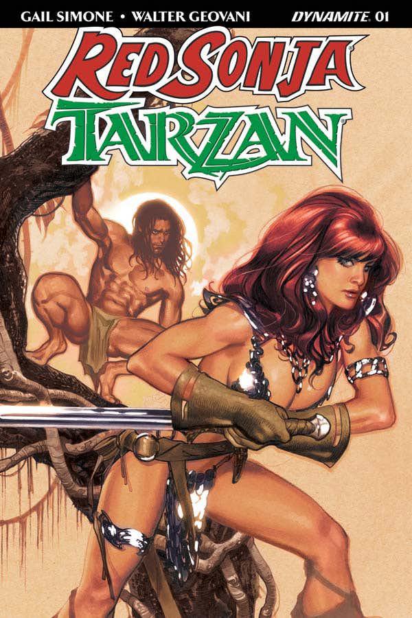 Red Sonja/Tarzan # 1